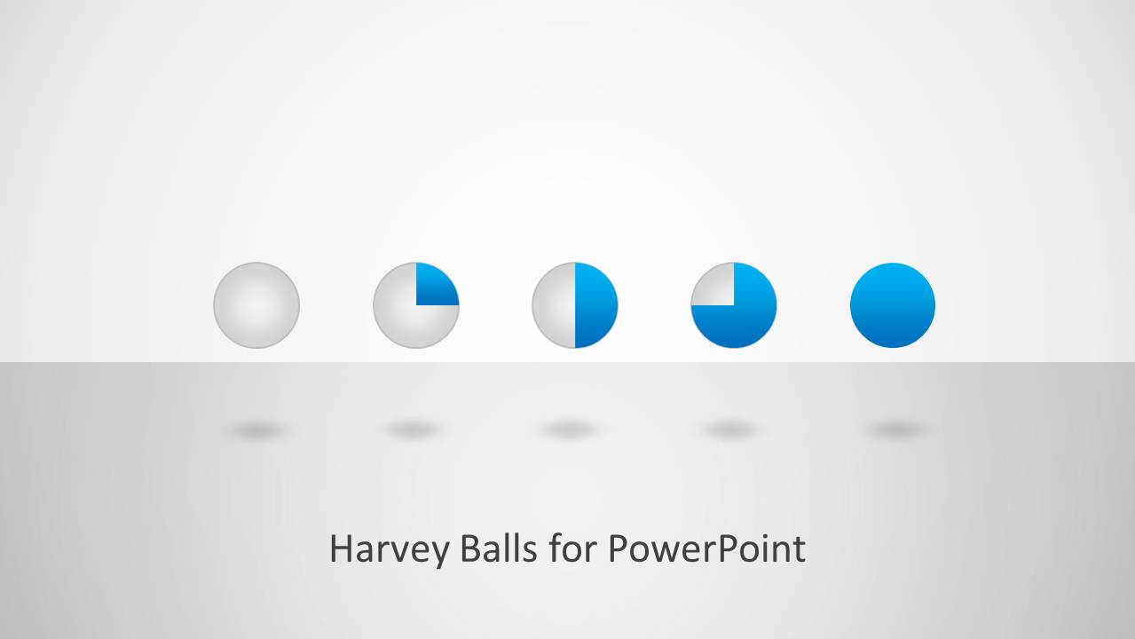 harvey ball shapes for powerpoint