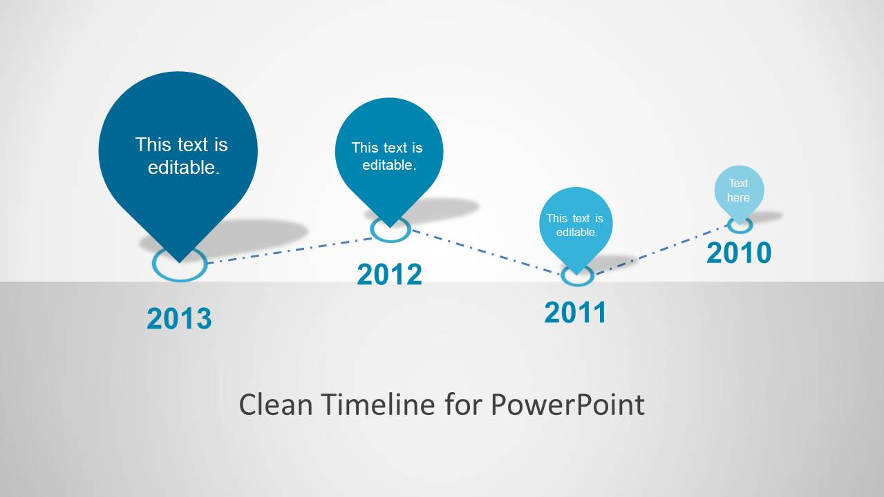 powerpoint timeline slide template