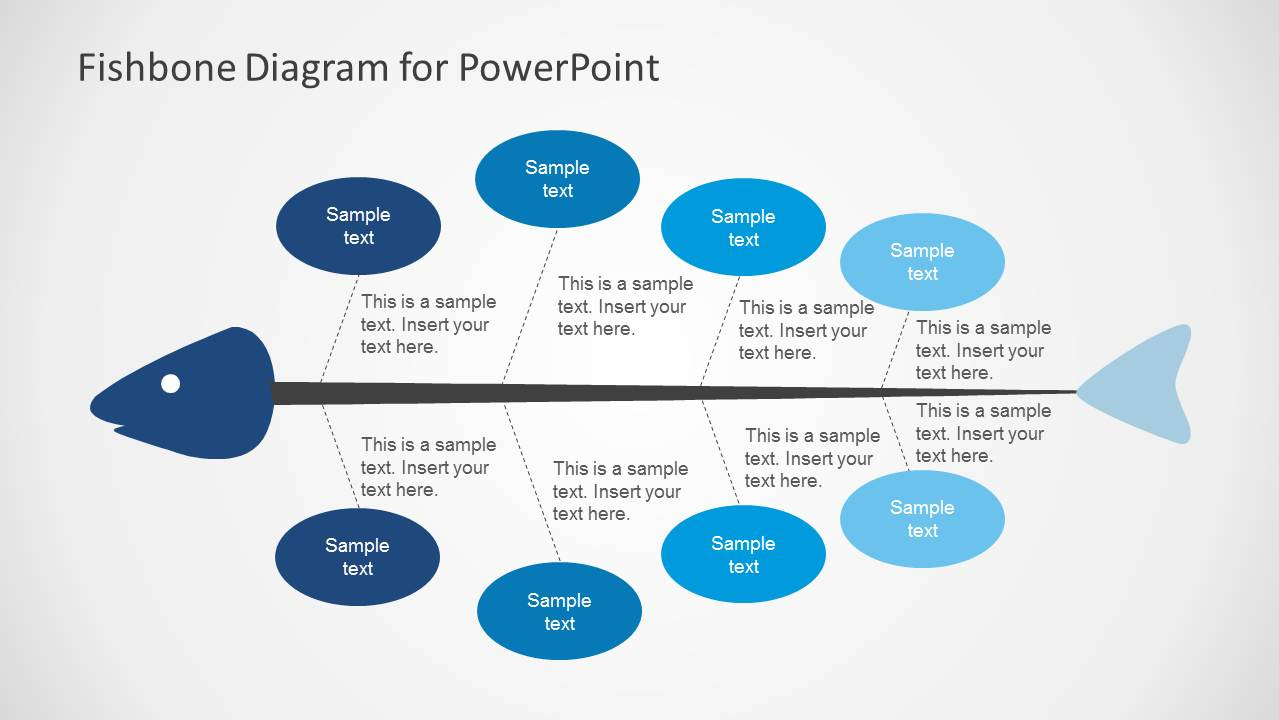 editable fishbone diagram template powerpoint