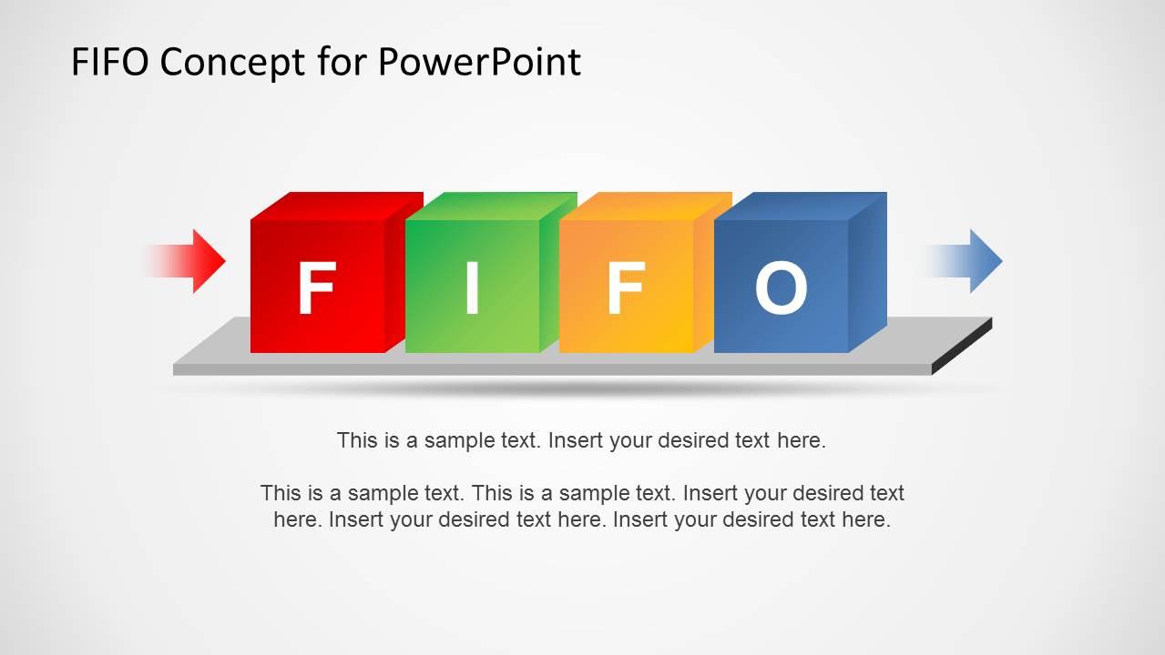 FIFO PowerPoint Template - SlideModel