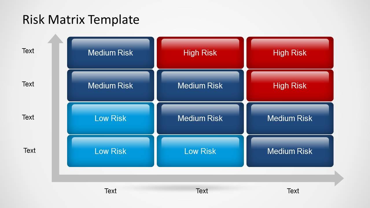 threat model template - 6299 01 risk matrix 6 slidemodel