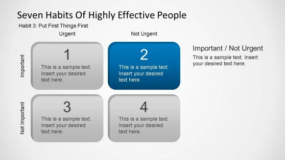 seven habits covey powerpoint template