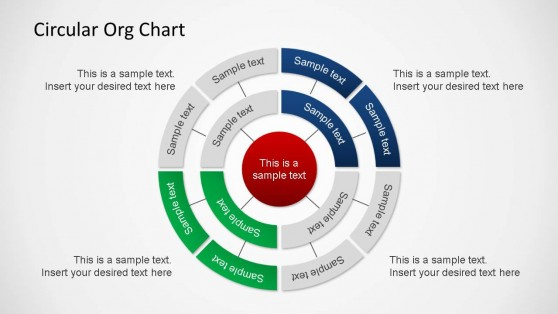 circular organizational chart powerpoint